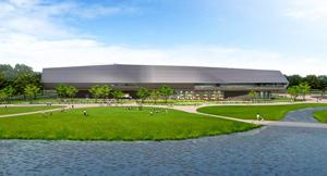 国立アイヌ民族博物館の完成イメージ(基本設計段階)