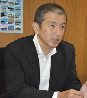 北海道開発局長の和泉晶裕氏