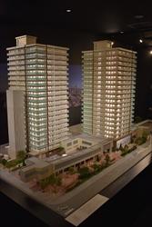 大和ハウス工業など北4東6MSの完成模型