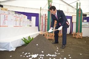旭川空港ターミナルビル起工式