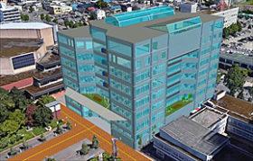 新市庁舎にカフェなど提案 旭川工高の卒業設計発表会