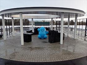 水飲み場ソラノイド誕生 札幌市立大船山さんがデザイン