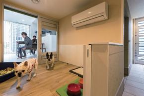 犬種や飼い主の要望に合わせた愛犬スペース
