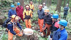 林業担い手確保の取組(上) 知内モデル構築までをたどる