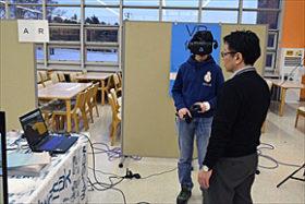 VR/ARなど最新技術で建設業を体感
