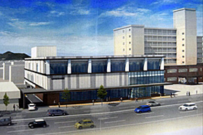 亀田地区統合施設の完成イメージ