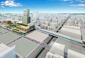 道新幹線札幌駅ホーム「東案その2」イメージをJR公表