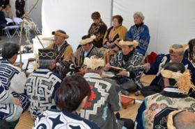 伝統の儀式で安全祈る 国立アイヌ民族博物館で地鎮祭