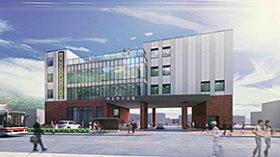 神恵内村役場庁舎改築の基本設計 概算工事費は12億円