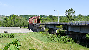 共栄橋の現況