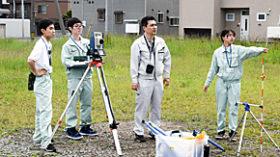 札幌市の元町会館前広場活用プロジェクトに札工生が参加