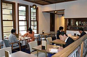 旧永山邸と三菱鉱業寮 保存活用工事終え、一般公開再開
