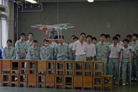 建設機械施工協会道支部が札幌工高でICT活用の出前授業