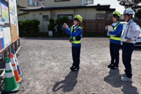 レディパト隊が意識向上に一役 戸沼岩崎建設の女性社員