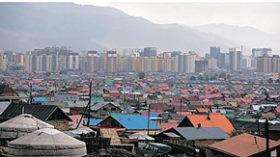 モンゴル通信 冬の大気汚染に悩む首都
