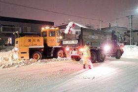 排雪運搬ダンプ80台程度不足見込む 今冬の旭川周辺