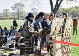 アイヌ伝統儀式「アシリチェプノミ」を十勝川で復活
