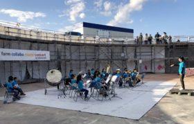 スラリーストアに音色 標津町の農場施設でコンサート