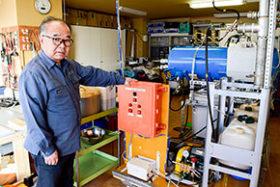 水と油の結合燃料で燃料費削減、プラチナウォーターが開発