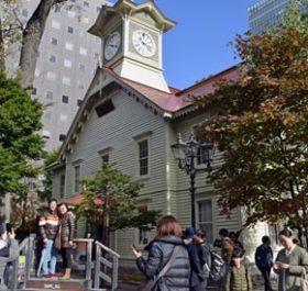 札幌市時計台がリニューアル 12月末まで入館無料
