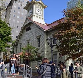 札幌市時計台がリニューアル