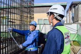 北見工高生が就業体験 市や周辺市町村の建設業などが受け入れ