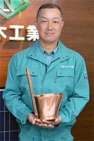 「日本一目指し」梨木工業の古市さん 板金全国大会へ挑戦