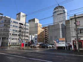 南1西12に店舗用地 北海道信金が560m²を取得