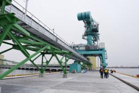 ばら積み貨物で競争力確保 釧路港国際物流ターミナル公開