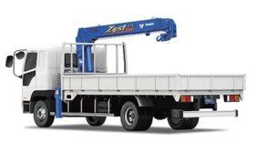 中・小型トラック用カーゴクレーンモデルチェンジ タダノ