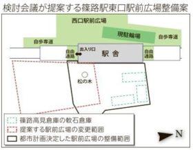 軟石倉庫3棟存続へ 篠路駅東口在り方検討会議が提言書
