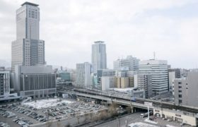 重大NEWS2018 (4)道新幹線札幌駅ホーム