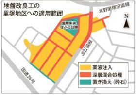 清田・里塚地区3ha地盤改良 液状化と土砂流動対策詳細
