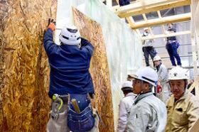 「木造仮設住宅」で地域工務店が復興支援 全木協が講習会