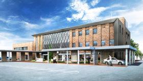 新役場庁舎は消防署と複合で延べ3914m² 新十津川町