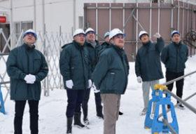 モンゴル建設安全行政官ら札幌の現場視察