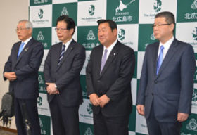 日ハムBP構想推進で、JR北広島駅を改修