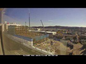 変わる街の姿残したい 北見市の信本課長が大型工事を動画で公開