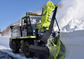 除雪車自動化へ知床横断道路で実験 開発局