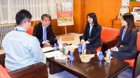 情報発信力強化へ UIJターン者と釧路市長が意見交換