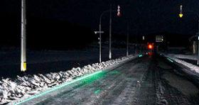 レーザーで道路示す「ビーコンライナー」 中大実業が提案
