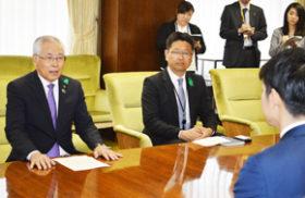 上野北広島市長、鈴木知事にBPの道路整備要請