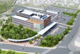 概算工事費61億円 岩見沢の新市庁舎を10月上旬にも入札
