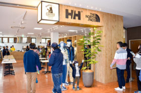 道東初のゴールドウイン直営店が知床にオープン