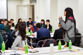 女性進出支援へ 室蘭建管などが室蘭工大の学生と座談会