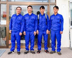ベトナム人実習生4人を重機オペレーターに 上田組