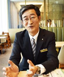 京王プレリアホテル札幌の松下徳良社長に聞く