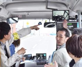 大樹で有料自動運転バス/開発局の実証実験が終了