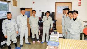 頑張る姿で社内に活気 ベトナム人実習生が堀口組で活躍中