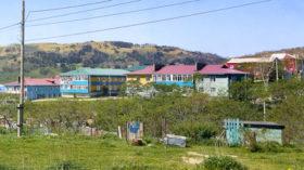 ルポ色丹島 北方領土ビザなし交流(上) 「遅れた島」に開発の波